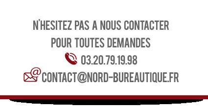 Nord Bureautique Vente et location de photocopieurs partenaire agréé CANON et SHARP Nord pas de calais