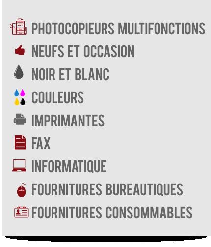 Nord Bureautique Vente et location de photocopieurs multifonctions